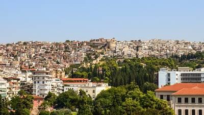 Panorama of Thessaloniki, Greece